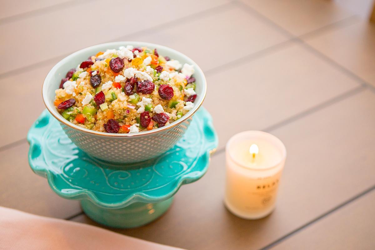 Quinoa Salad 'SHARMA' Style